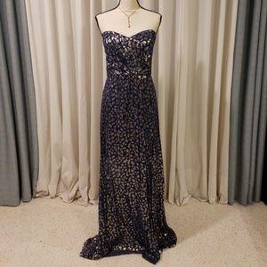 Animal Print Formal Dress